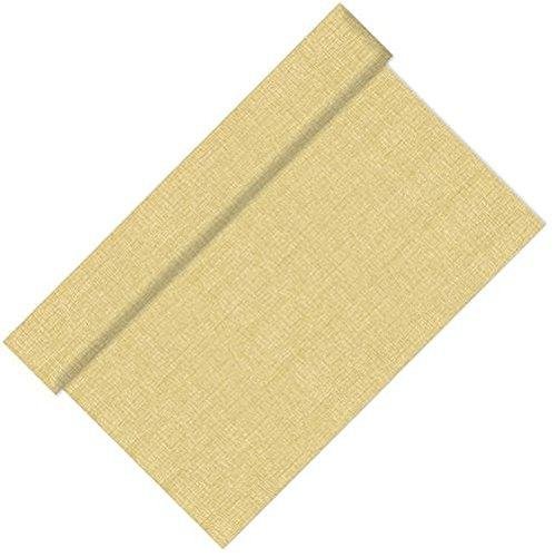 stoff/ähnlich Vlies soft selection 24 m x 40 cm weiss auf Rolle #84318 Papstar Tischl/äufer