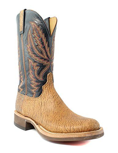 - Lucchese HX2504.HF Archer Mens Tan Old English Goat Leather Cowboy Western Boots