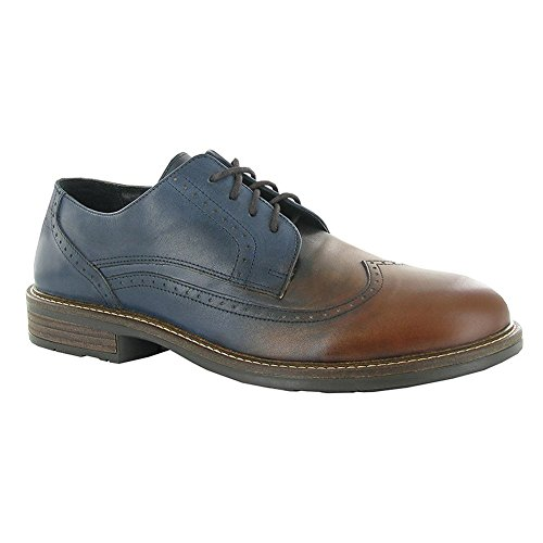Naot Magnate Executive Heren Oxfords Schoenen Ink Brown Lthr - Handgemaakt