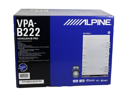 Alpine VPA-B222 VehicleHub AV Switch/Tuner/Crossover by Alpine Innovations