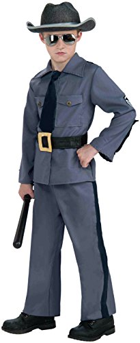 Forum Novelties State Trooper Child Costume, Large - Cop Costumes For 11 Year Olds