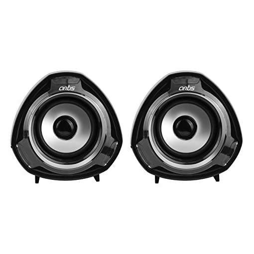 Artis S9 20 USB With 35Mm Audio Jack Multimedia Speakers Bl
