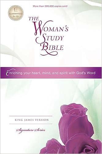 Woman's Study Bible-KJV-Signature: Nelson Bibles: 9781418548780