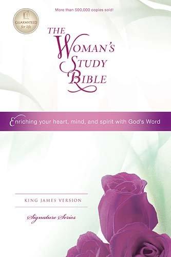 Woman's Study Bible-KJV-Signature (Study Christmas For Bible Topics)