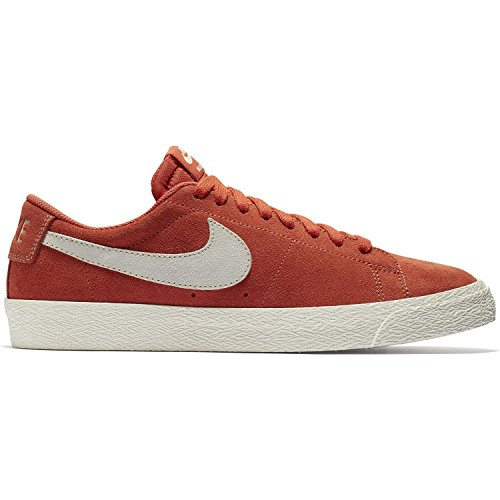 Nike 864347-800: Men's SB Zoom Blazer Low Vintage Coral/Fossil Skate Shoe (13 D(M) US Men) ()