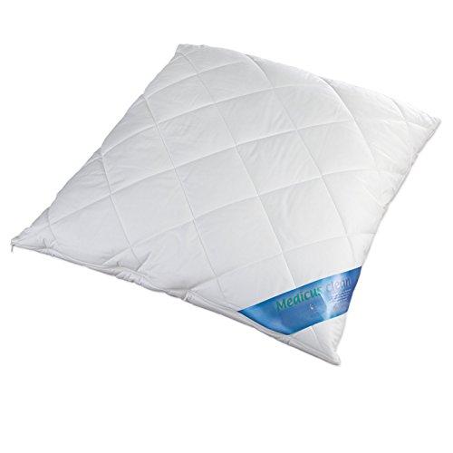 Schlafmond Medicus Clean Allergiker Kopfkissen 80x80 cm, waschbar 95 Grad