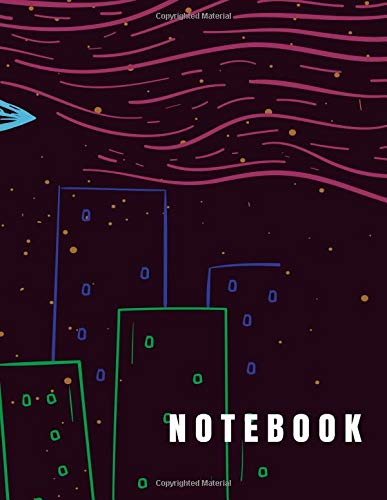 Notebook: UFO got me3 cover (8.5 x 11)  inches 110 pages, Blank Unlined Paper for Sketching, Drawing , Whiting , Journaling & Doodling (alien notebook,) (Volume 33) by Char story