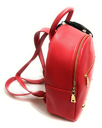 Rosso Grain Donna Moschino Love Soft Zainetto Borsa Jc4307pp06ku0500 X40ffnCx