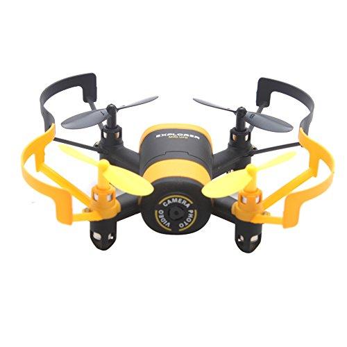 Price comparison product image 512W Mini Quadcopter With 0.3MP Camera Control WiFi FPV Drone New Gift - Yellow
