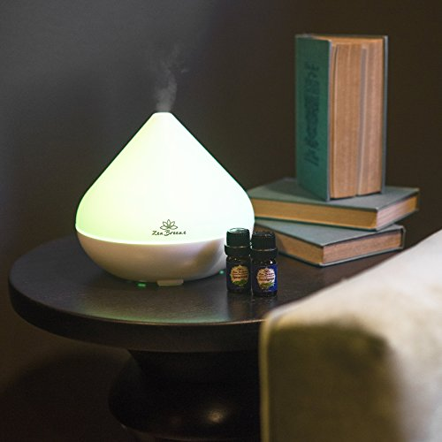 Essential Oil Diffuser, 2017 Model, 14 Color LED Lamp