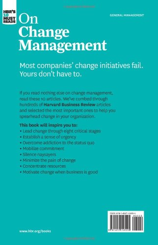 management leading change by john p Most companies' change initiatives fail yours don't have to if you listen to nothing else on change management, listen to these 10 articles (featuring leading change by john p.