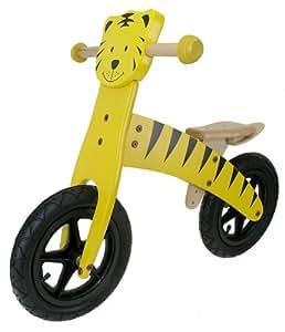M-Wave Child's Wooden Running Bike (Tiger)