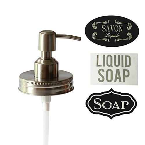 mason jar pump dispenser - 6