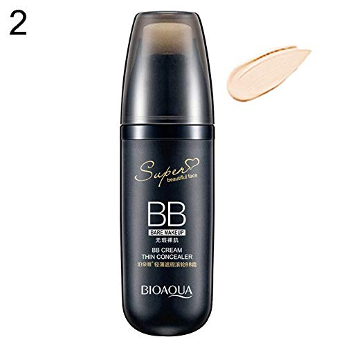 Foundations gLoaSublim,Women's BB Cream Whitening Moisturizing Concealer Cover Cosmetics Make Up Kit - Ivory White (Cover Ivory Concealer Stick Maybelline)