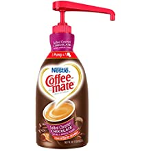 NESTLE COFFEE-MATE Coffee Creamer, Salted Caramel Chocolate, 1.5L liquid pump bottle, Pack of 1