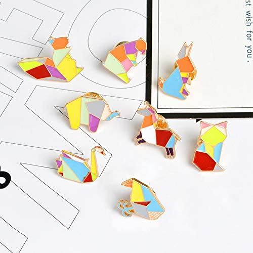 Pibupibu Collect Addiction Cute Unique Brooch Pins Set for Clothes Bag Jacket Backpack Hat Costume Accessories Decoration
