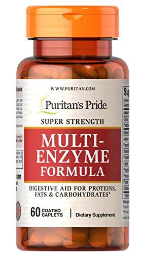 (Puritan's Pride Super Strength Multi Enzyme-60 Caplets)