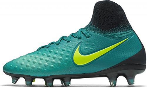 Nike 844410-375, Botas de Fútbol para Niños Azul (Rio Teal / Volt-Obsidian-Clear Jade)