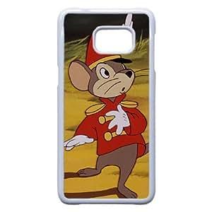 Samsung Galaxy Note 5 Edge Phone Case White Dumbo Timothy Q. Mouse KJI8507139