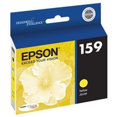 OEM Epson 159 (T159420) Yellow UltraChrome Hi-Gloss 1 Ink Cartridge