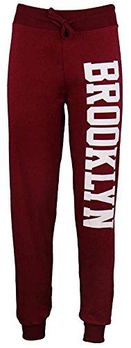 Pantalon l Femme My Pour Jogging Bordeaux Store De Fashion 40