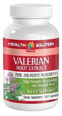 Nerve formula - VALERIAN ROOT EXTRACT - Valerian super calm - 1 Bottle 100 Capsules