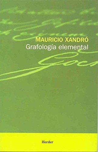 Descargar Libro Grafología Elemental Mauricio Xandró