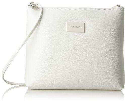 comma Feather Light Shoulderbag Mhz - Bolso de mano Mujer Blanco (White 100)