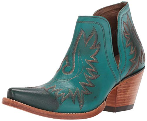 Ariat Women's Women's Dixon Western Boot, Agate Green, 7.5 B US