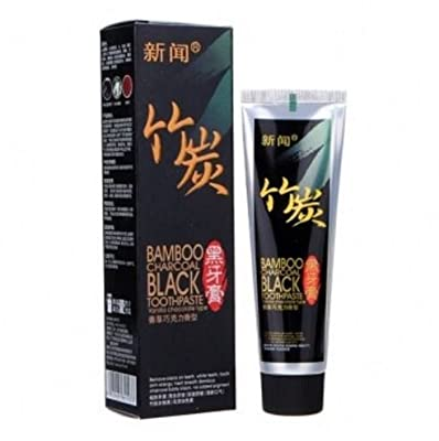 60g Black Bamboo Charcoal Toothpaste Teeth Whitening by STCorps7