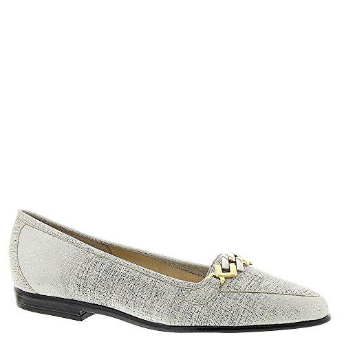 Amalfi by Rangoni Womens OSTE Closed Toe Loafers, White Way, Size 6.0 US/4 UK US
