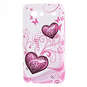 Heart-Shaped Pattern Funda para Advance Samsung Galaxy S I9070
