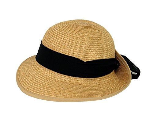 Brim Braid (HBY Miami Small Brim Toyo Braid Hat-Natural-O/S)