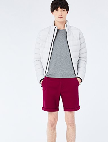 Uomo Regular beet Cotone In Red Fit Pantaloni Rosso Meraki fw6qXX