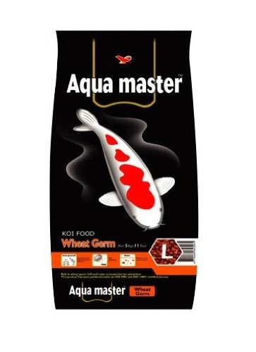Aqua Master Wheat Germ Fish Food, 2.2-Pound/Bag, Large