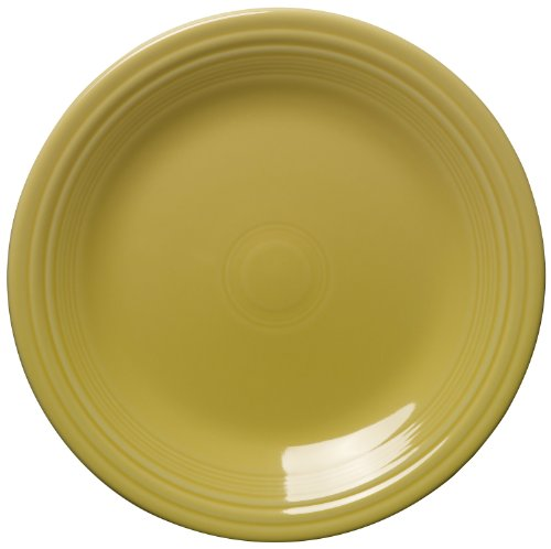 (Fiesta 10-1/2-Inch Dinner Plate, Sunflower)