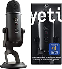 Yeti is the most advanced and versatile multi-pattern USB microphone available Anywhere. Combining three capsules and four different pattern settings, Yeti is the ultimate tool for creating amazing recordings, directly to your computer. With ...