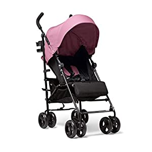 Mamas & Papas Cruise Practical Folding Pushchair Buggy with Front Suspension Wheels, Adjustable Lie Flat Seat and Large…