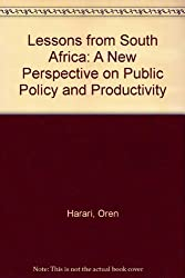 Lessons from South Africa: A New Perspective on Public Policy and Productivity