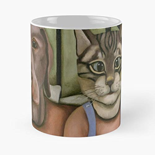 Mask Masks Cat Feline - Funny Coffee Mug, Gag Gift Poop Fun Mugs