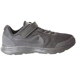NIKE Boys' Revolution 3 (Psv) Running-Shoes, Black/Black, 12.5 M US Little Kid