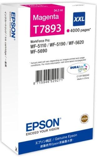2 opinioni per Epson C13T789340 Cartuccia, Magenta