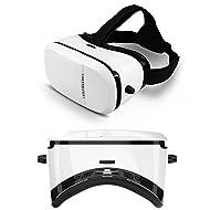 Indigi Vrbox Lunettes 3d réalité virtuelle Google Carton pour iPhone Samsung 4.5–15,2cm