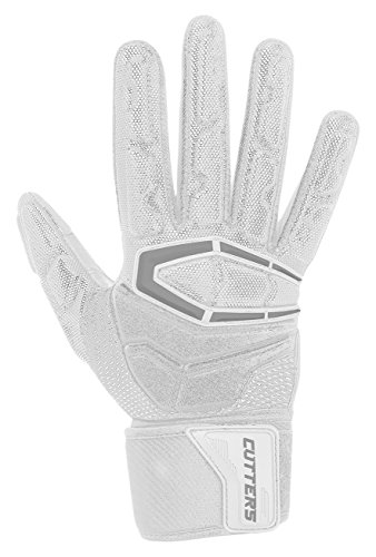 Cutters Gloves S932 Force 3.0 Lineman Gloves, White, X-Large