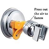 Support de pommeau de douche à ventouse ajustable rotatif à 360 degrés sans travaux de perçage