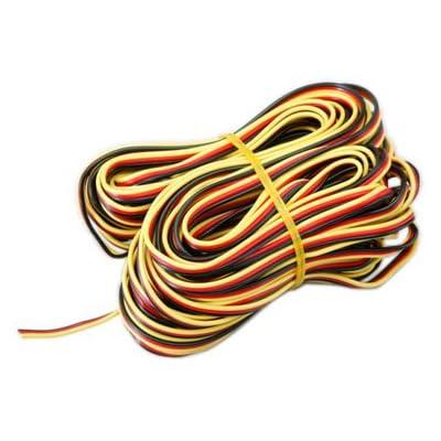 Hitec RCD Inc. Servo Wire: 50\' 3-Color Heavy Gauge, HRC54804: Toys & Games [5Bkhe1206034]