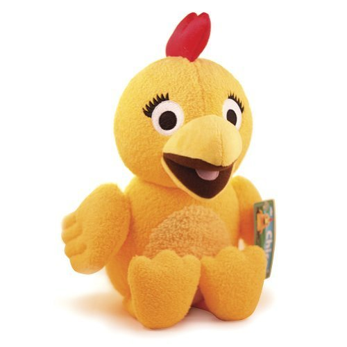 Fiesta Toys The Sunny Side Up Show Squeaking Chica Plush Stuffed Animal Toy on Sprout