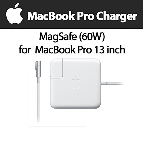 Macbook Pro Charger, 60W Magsafe L-Tip AC Power Adapter Charger for Macbook and 13 inch Macbook Pro - Before Mid 2012