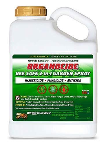 1 Gallon Garden - Organocide 3-In-1 Garden Spray Concentrate 1 Gallon OMRI Organic