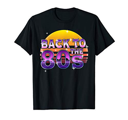 Back to the 80s Sunset Tee for Adult, S to 3XL